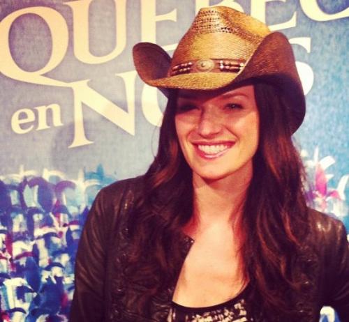 Andree Watters est numero un au Canada avec son album country