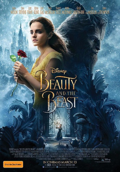 beauty and the beast affiche