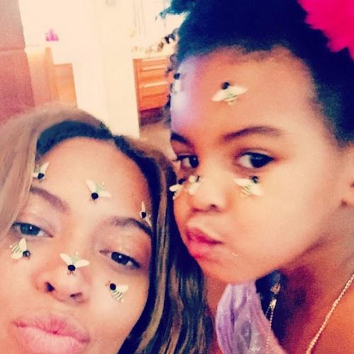 Beyonce et Blue Ivy photos