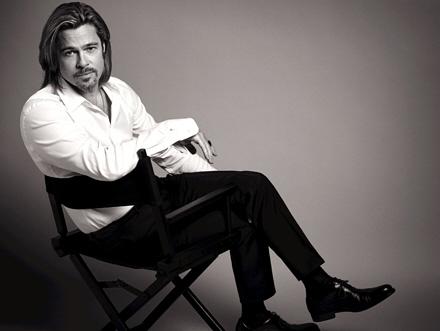 Brad Pitt est sexy dans la publicite de Chanel