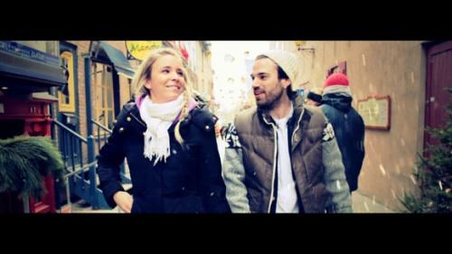 Caroline et Genevieve d Occupation Double dans le videoclip du rappeur Showbyz