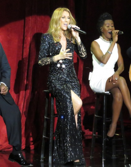Celine Dion participera au spectacle de Noel de Michael Buble