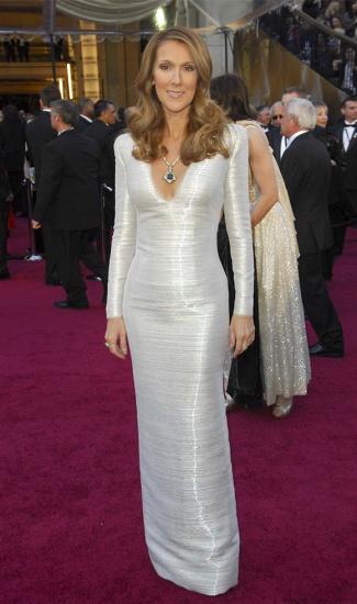 Celine Dion sur le tapis rouge
