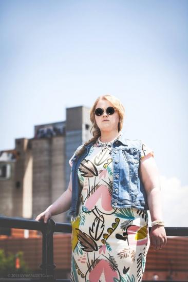 Debbie Lynch White en vedette dans un editorial mode des Relookeuses