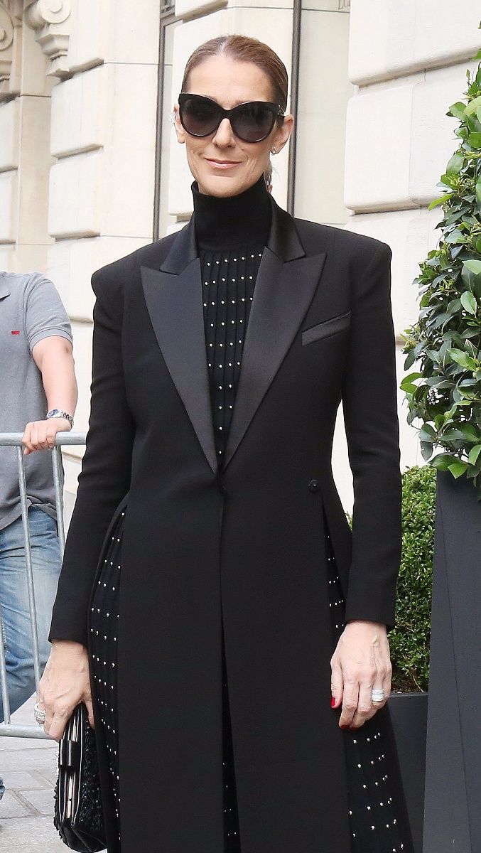 Celine Dion leaves the Royal Monceau Hotel in ParisFeaturing: Celine DionWhere: Paris, Royal Monceau Hotel, FranceWhen: 13 Jun 2017Credit: WENN.com**Not available for publication in France, Belgium, Spain, Italy**