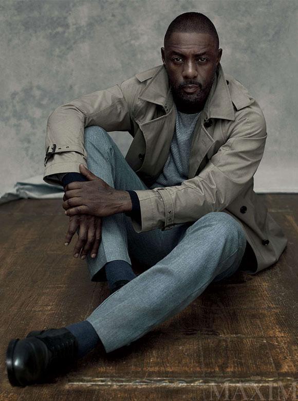 Idris Elba Maxim magazine