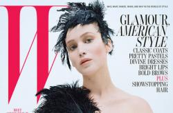 Jennifer Lawrence sur le cover du W HOT or NOT