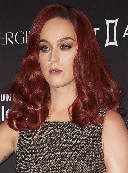 Katy Perry est rousse et cest HOT
