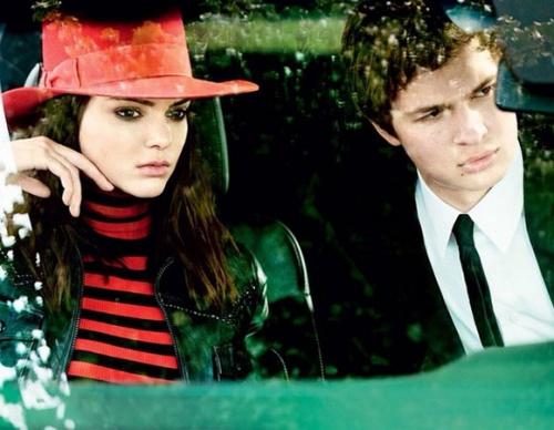 Kendall Jenner, Justin Bieber, Gigi Hadid et Ansel Elgort dans les pages de Vogue
