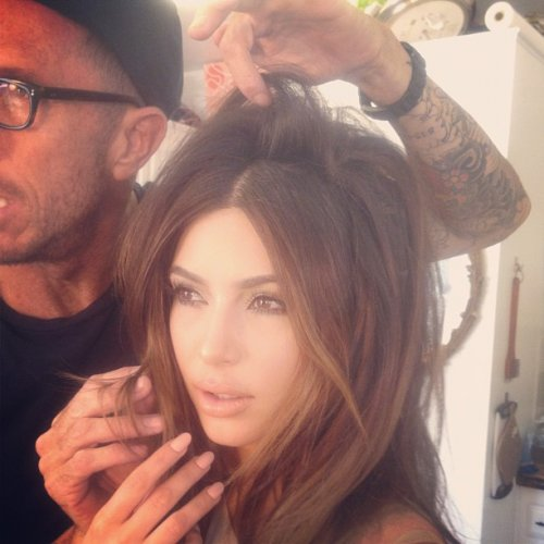 Kim Kardashian est sexy dans ce photoshoot