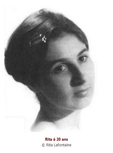 La comedienne quebecoise Rita Lafontaine est decedee