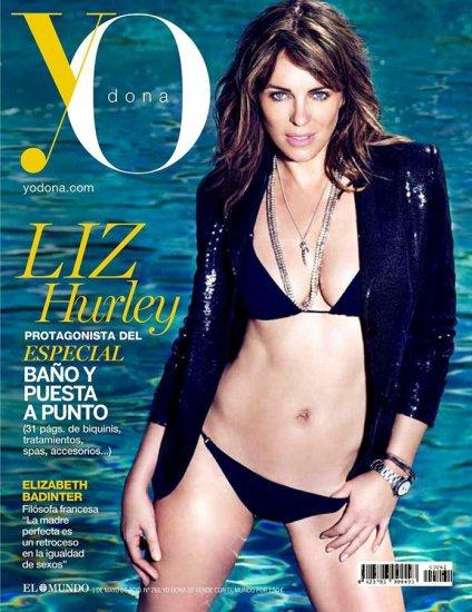La galerie SEXY du jour: Elizabeth Hurley lintemporelle pour Yo Dona