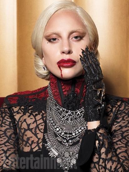 Lady Gaga etait faite pour American Horror Story Entertainement Weekly
