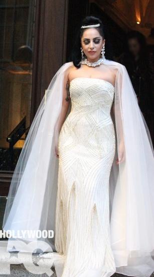 Lady Gaga se rend a la Place des arts de Montreal SPOTTED