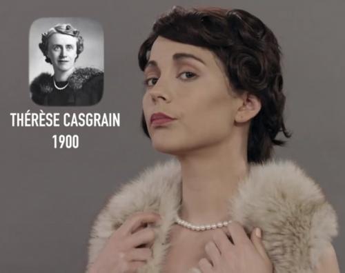 Le BUZZ Les 375 ans de look au Quebec de Vanessa Pilon pour Vrak Attak
