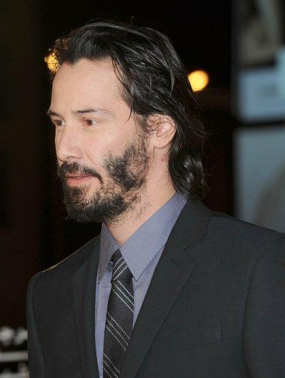 Le mec du jour Keanu Reeves et son air figé