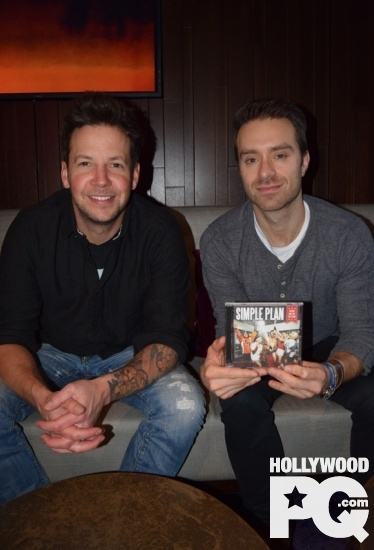 Le secret de la longevite de Simple Plan a la sortie de Taking One For The Team Entrevue exclusive Hollywoodpq