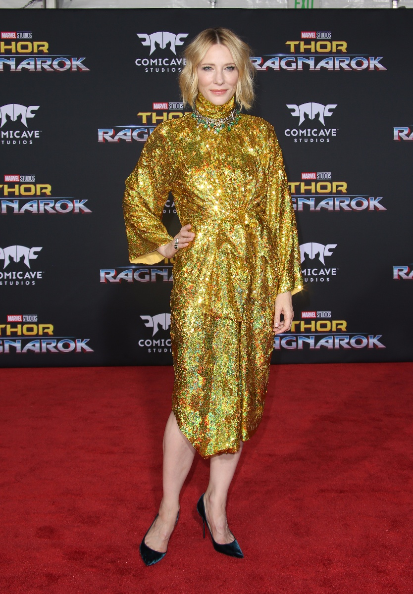 World premiere of 'Thor: Ragnarok\' at El Capitan TheatreFeaturing: Cate BlanchettWhere: Hollywood, California, United StatesWhen: 10 Oct 2017Credit: FayesVision/WENN.com