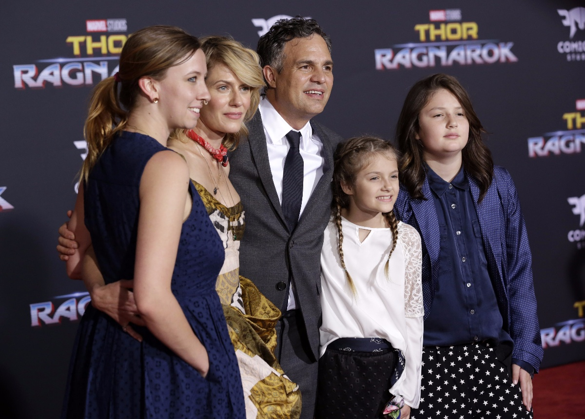 Celebrities attend \'Thor: Ragnarok\' Film Premiere at El Capitan Theatre in Hollywood.Featuring: Sunrise Coigney, Mark Ruffalo, familyWhere: Los Angeles, California, United StatesWhen: 10 Oct 2017Credit: Brian To/WENN.com