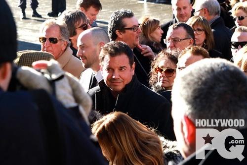 Les funerailles de Rene Angelil a la Basilique Notre-Dame de Montreal