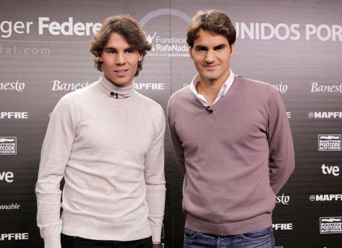 Les MECS du jour: Rafael Nadal et Roger Federer