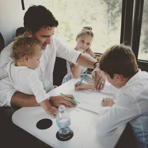 Les meilleures photos de famille du premier ministre Justin Trudeau