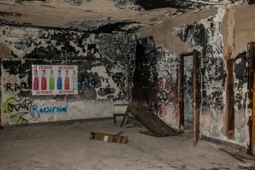 Les premieres images du film paranormal quebecois L energie sombre avec Sebastien Huberdeau et Isabelle Blais