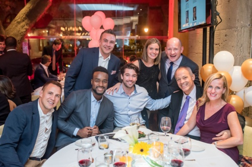 Les sportifs sur leur 31 au Gala benefice du Groupe VPP au profit de la Fondation Bruny Surin