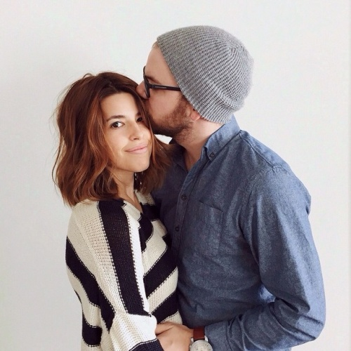 Marilou et Alexandre Champagne de Trois fois par jour attendent leur premier bebe