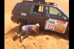 Mariloup Wolfe complete le Rally Aicha des Gazelles du Maroc