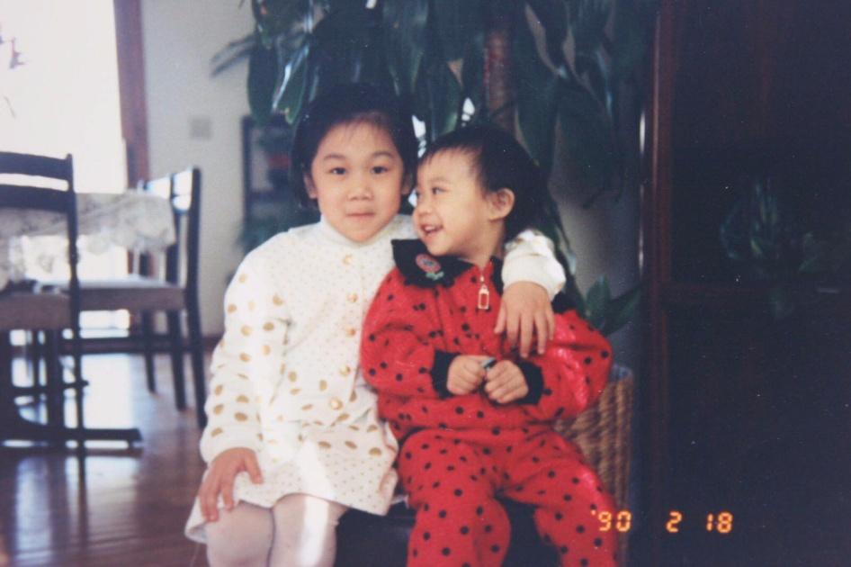 Priscilla Chan et sa soeur
