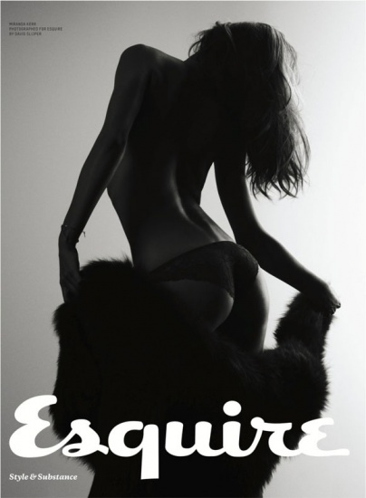 Miranda Kerr est HOT sur le cover du magazine Esquire