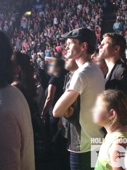 Neil Patrick Harris et David Burtka assistent au concert de Katy Perry au Centre Bell de Montreal SPOTTED