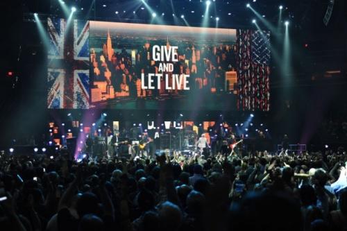 Nirvana Paul McCartney et les Rolling Stones au concert benefice 121212 pour les victimes de Sandy
