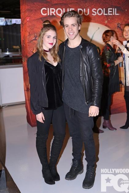 Sophie Nélisse et Maxime Guibeault