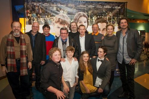Pee Wee 3D Premiere du film a l AMC Forum