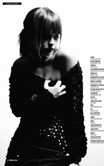 Photoshoot: Christina Ricci pour Blackbook
