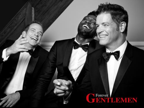 Roch Voisine Garou et Corneille reunis dans le trio Forever Gentlemen