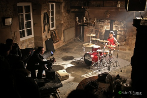Ryan Stevenson est en tournage en Bretagne