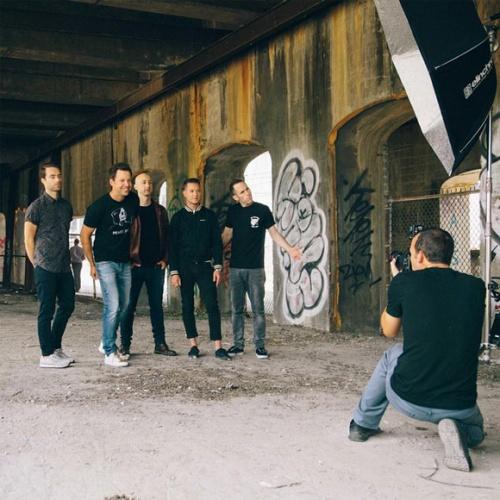 Simple Plan est en photoshoot a Montreal pour son prochain album