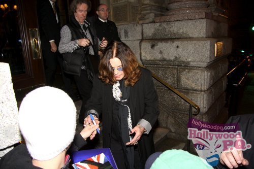 SPOTTED Ozzy Osbourne à lHôtel St James