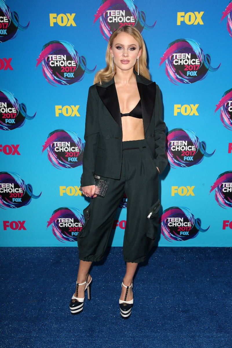 Teen Choice Awards 2017Featuring: Zara LarssonWhere: Los Angeles, California, United StatesWhen: 14 Aug 2017Credit: FayesVision/WENN.com