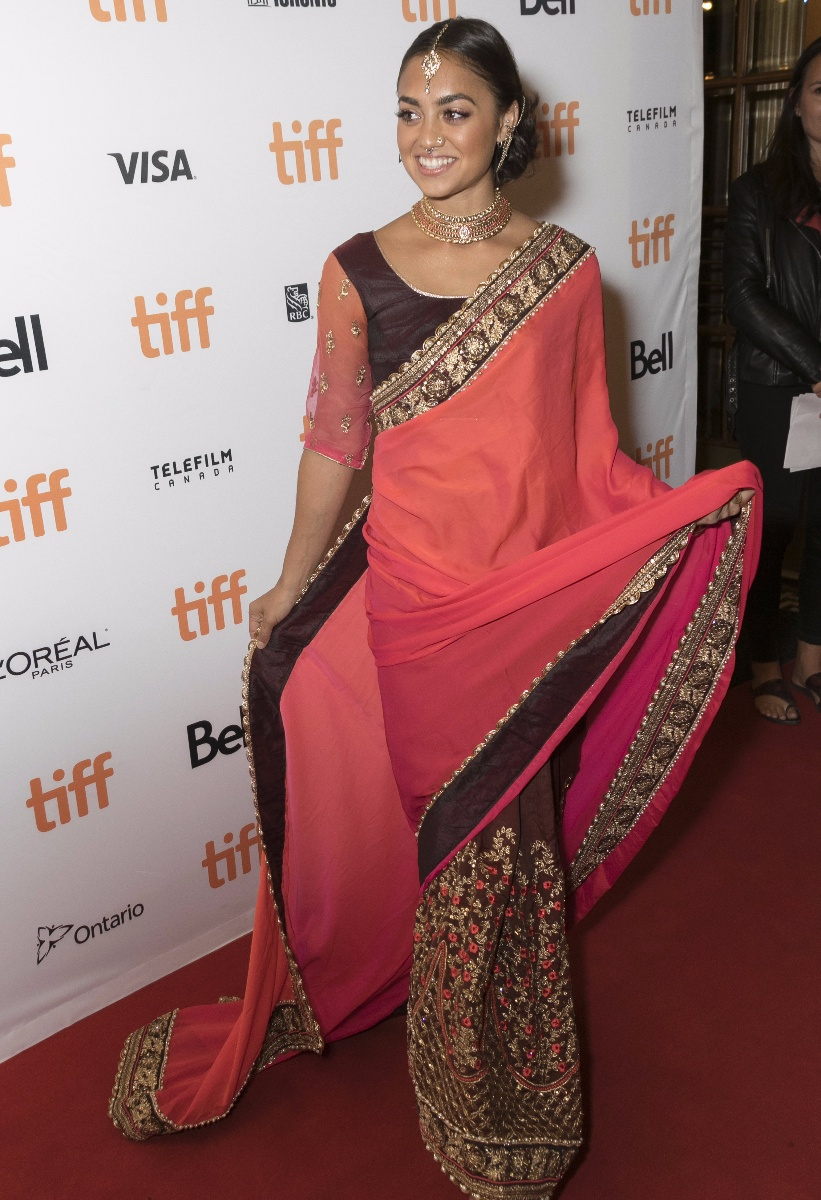 Shazi Raja attends the premiere of \'Brad\'s Status\' during the 42nd Toronto International Film Festival, tiff, at Elgin Theatre in Toronto, Canada, on 09 September 2017.  - NO WIRE SERVICE - Photo: Hubert Boesl/dpaWhere: Toronto, CanadaWhen: 10 Sep 2017Credit: Hubert Boesl/picture-alliance/Cover Images