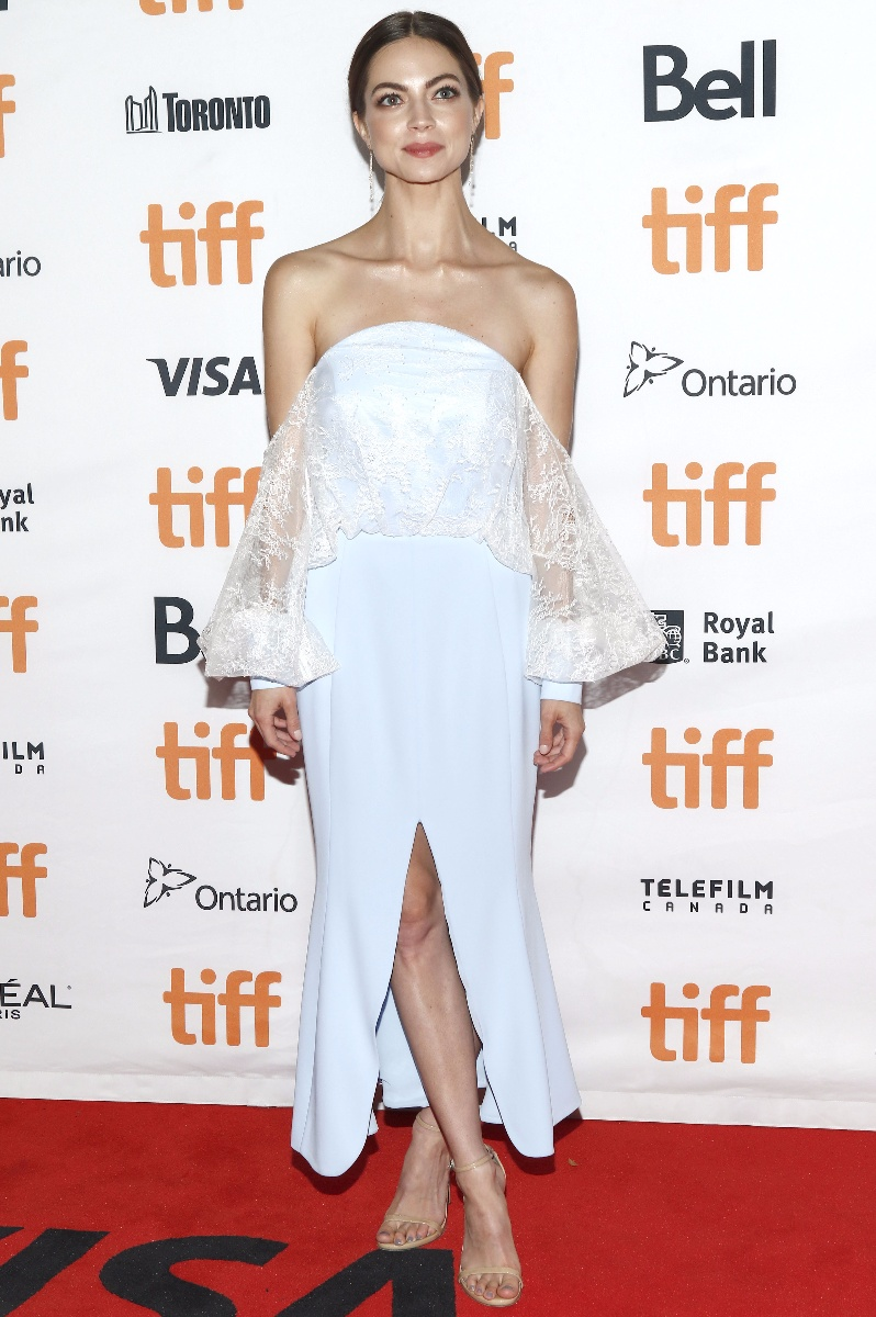 Caitlin Carver attending the \'I, Tonya\' premiere during the 42nd Toronto International Film Festival at Princess Of Wales Theatre on September 08, 2017 in Toronto, CanadaWhere: Toronto, Ontario, CanadaWhen: 08 Sep 2017Credit: Regina Wagner/Geisler-Fotopress/picture-alliance/Cover Images