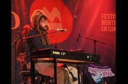 Matthieu, de Tricot machine au Festival Montreal en Lumiere