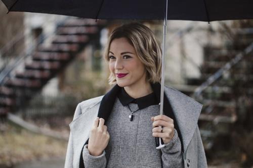 Vanessa Pilon la premiere ambassadrice de mode quebecoise