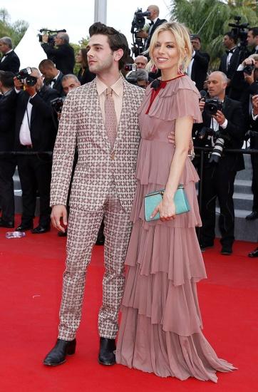 Xavier Dolan Sienna Miller Cannes 2015
