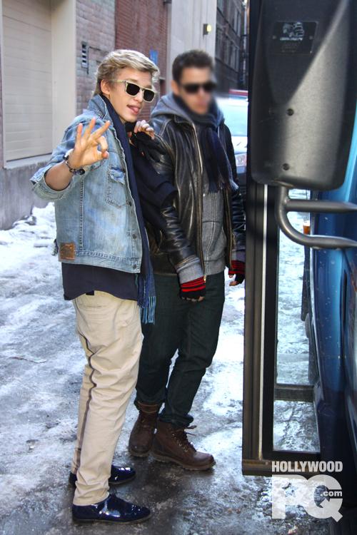 Cody Simpson à Montréal - Spotted