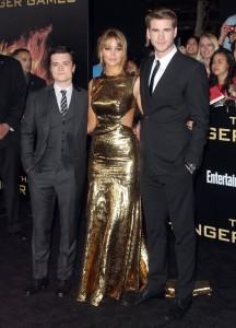 The Hunger Games - Le tapis rouge de la première mondiale