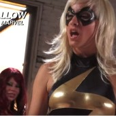 The Avengers parodie porno